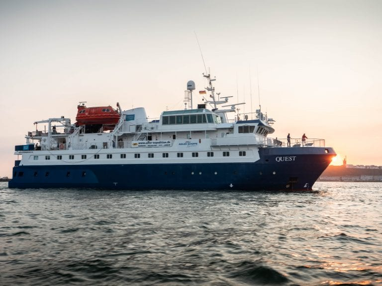 MS Quest Wattenmeerexpedition Nordsee Adler Schiffe